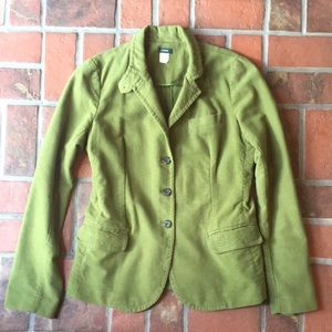 J Crew women's green blazer L Tall